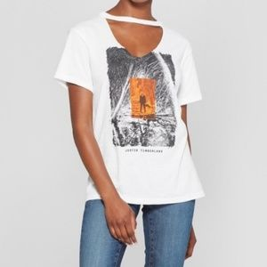 Tops - JUSTIN TIMBERLAKE Man of the Woods graphic tee -A5